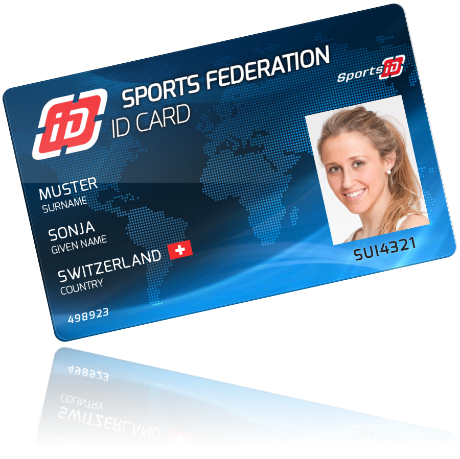 SportsID – Membership Card Samples